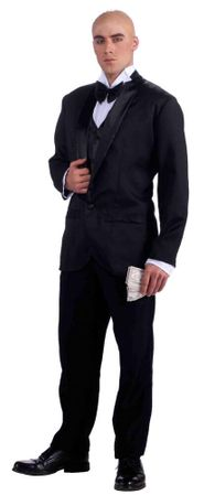 Adult Daddy Warbucks Costume, Size M/L