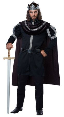 Adult Dark Monarch King Costume