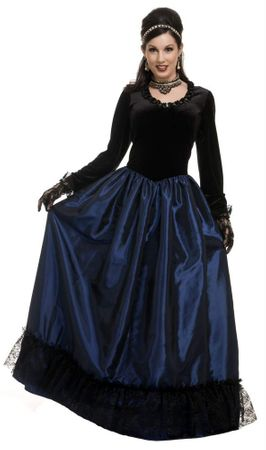 Adult Dark Victorian Princess Costume