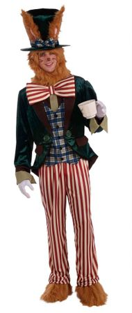 Adult Deluxe March Hare Costume, Size M/L