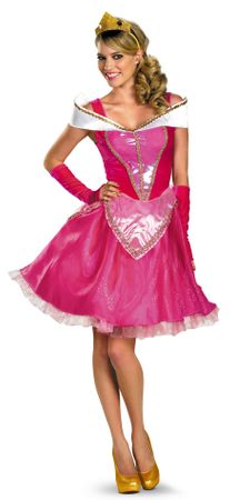Adult Disney Princess Aurora Costume