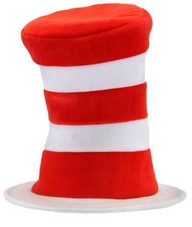Adult Dr. Seuss Cat in the Hat Deluxe Hat