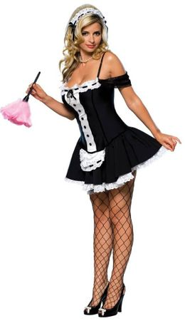 Adult Dust Bunny Sexy French Maid Costume