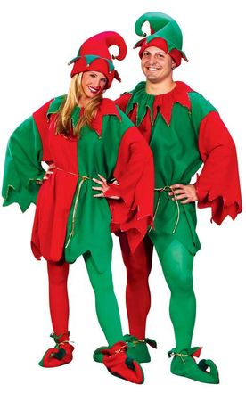 Adult Elf Costume Set