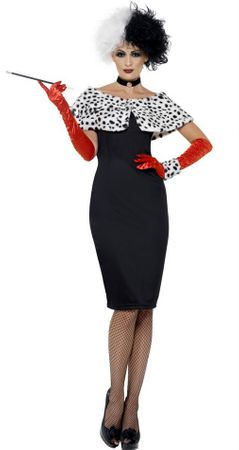 Adult Evil Madame Spot Costume