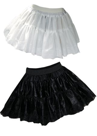 Adult Extra Volume Pettiskirt - White or Black