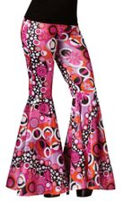 6a13429a40e Adult Feelin  Groovy Bell Bottoms - Adult and Plus.  25.99. Peace Sign  Hippie Beads