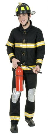 Plus Size Adult Fireman Costume