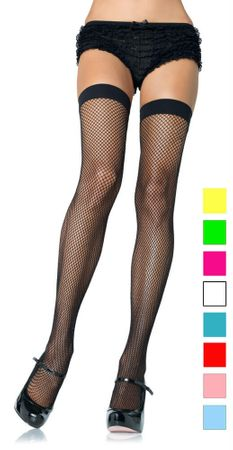 Adult Fishnet Thigh Highs - More Colors