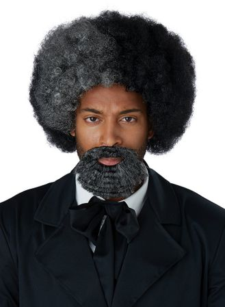 Adult Frederick Douglass Wig  Beard
