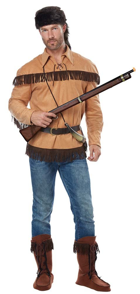 2c6c95b1 Adult Frontier Man/Davy Crockett Costume - Candy Apple Costumes ...