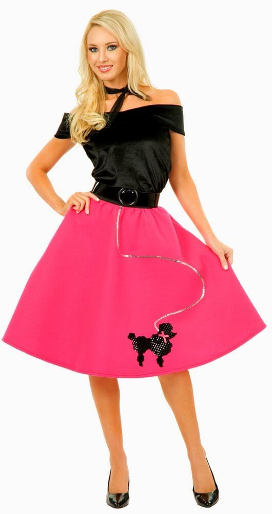 cheap poodle skirts for adults
