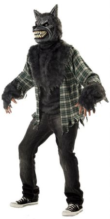 Adult Full Moon Madness Werewolf Costume