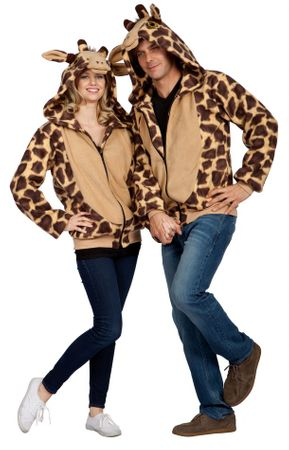 Adult Georgie the Giraffe Costume Hoodie