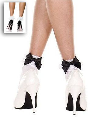 Adult Girly Bow Ankle Socks - More Colors