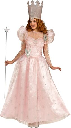 Adult Glinda the Good Witch Costume, Size S/M