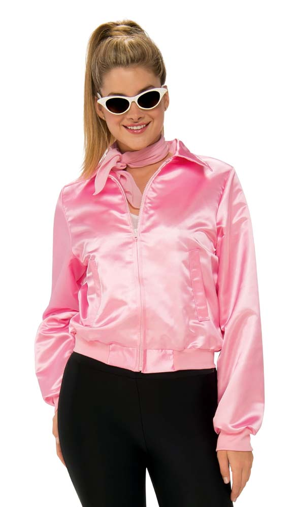 b1913e7e92f Adult Grease Pink Ladies Jacket - Candy Apple Costumes - Women s ...