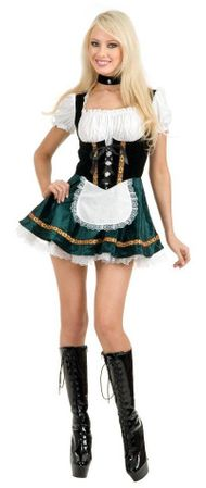 Adult Green Beer Garden Girl Costume