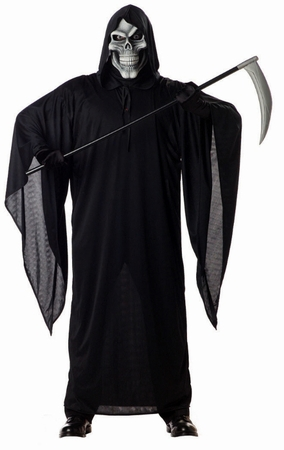 Adult Grim Reaper Costume, Size XL
