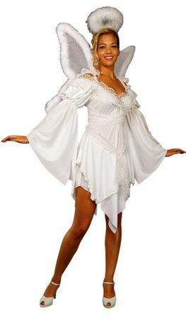 Adult Heavenly Angel Costume, Size M/L