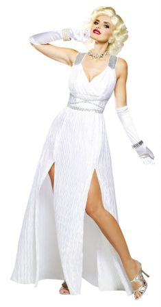 Adult Hollywood Goddess Marilyn Costume