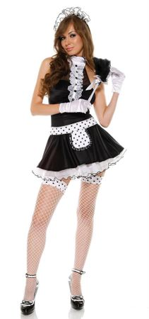 Adult House Hunny Sexy French Maid Costume
