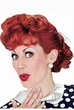 Adult I Love Lucy Wig