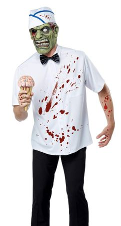 Adult I-Scream Man Zombie Costume