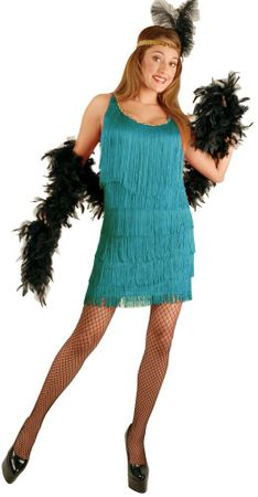 Adult Jade Flapper Costume