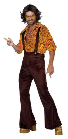 Adult Jive Talkin' Disco Dude Costume