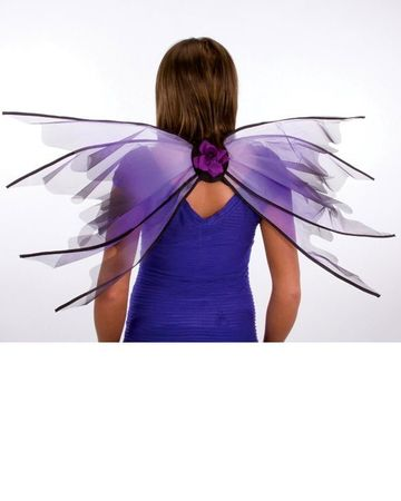 Adult Jumbo Purple Fairy Wings