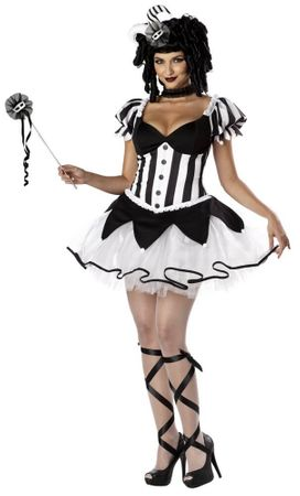 Adult King's Delight Sexy Harlequin Costume