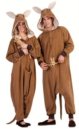 Adult Kittle the Kangaroo Funsies Costume