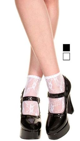 Adult Lace Anklet Socks