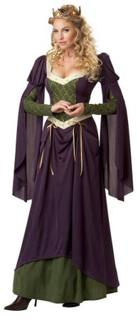 Adult Lady in Waiting Medieval Costume