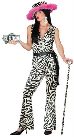 Adult Lady Pimp Costume