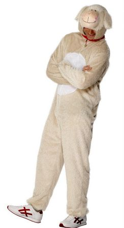 Adult Lamb Costume