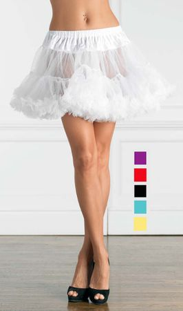 Adult Layered Tulle Petticoat - More Colors