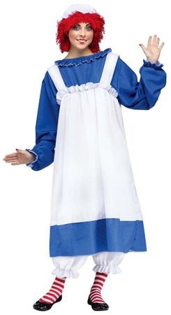 Adult Licensed Raggedy Ann Costume