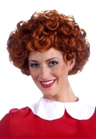 Adult Little Orphan Annie Wig