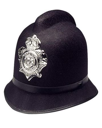 Adult London Bobby Police Hat