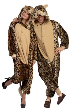 Adult Lux the Leopard Funsies Costume