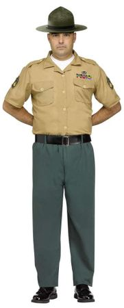 Adult Marine Drill Instructor Costume