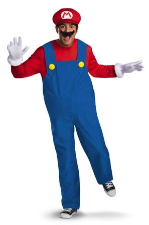 Plus Size Mario Costume - Super Mario