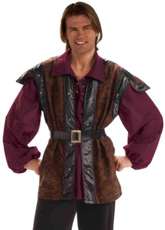 Adult Medieval Mercenary Costume, Size M/L