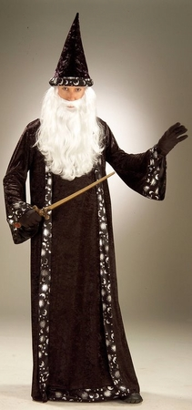 Adult Men's Mr. Wizard Costume, Size M/L