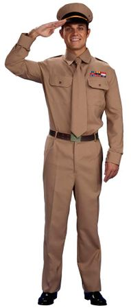 Adult Men's WWII General Costume, Size M/L