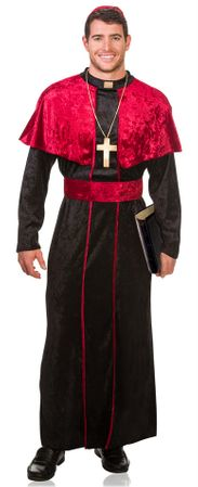 Adult Men's Cardinal Costume