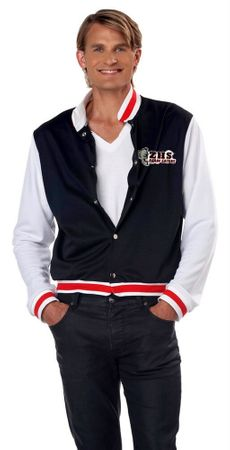 Adult Men's Letterman Jacket Costume