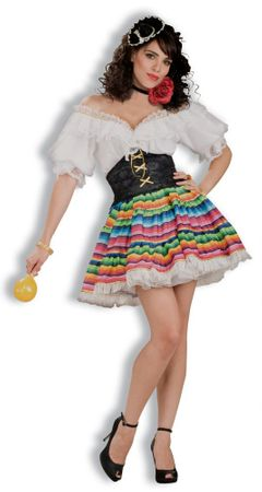 Adult Mexican Hot Tamale Costume, Size M/L